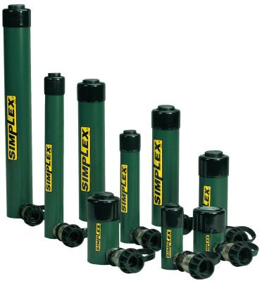 SIMPLEX Spring Return Cylinders, 15 tons, 6 in Stroke Length