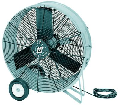 TPI CORP. Direct Drive Portable Blowers, 3 Blades, 36 in, 1,050 rpm