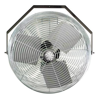 TPI CORP. Work Station Fans, Stationary Direct Drive Rotating, 18 in, 1/8 hp, 3-Speed