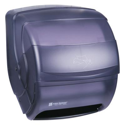 SAN JAMAR DISPENSER Integra Lever Roll Towel Dispenser, Black Pearl, 11 1/2 x 11 1/4 x 13 1/2