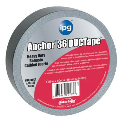 INTERTAPE POLYMER GROUP AC36 HVAC Cloth Duct Tape, Silver, 1.88 in x 60 yd x 11 mil