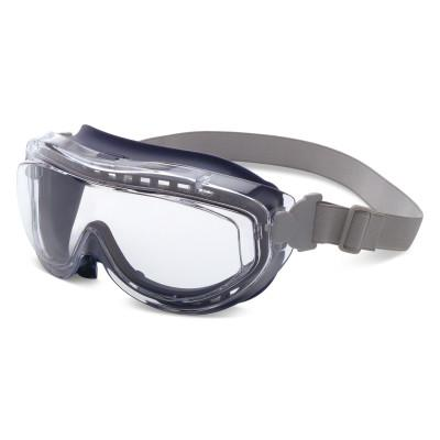 HONEYWELL UVEX Flex Seal Goggles, Clear/Navy