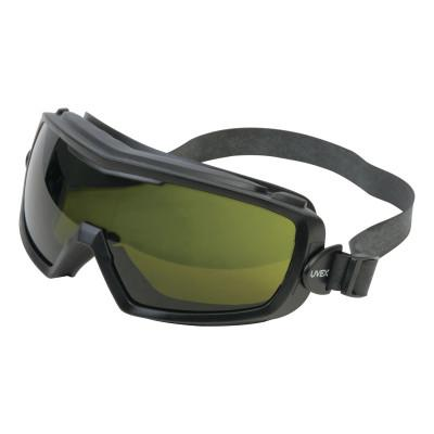 HONEYWELL UVEX Entity Goggles, Matte Black Frame, Shade 3.0  Lens, Uvextra Antifog Coating