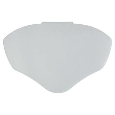 HONEYWELL UVEX Turboshield Visor, Uncoated, Clear, Polycarbonate, 12 in