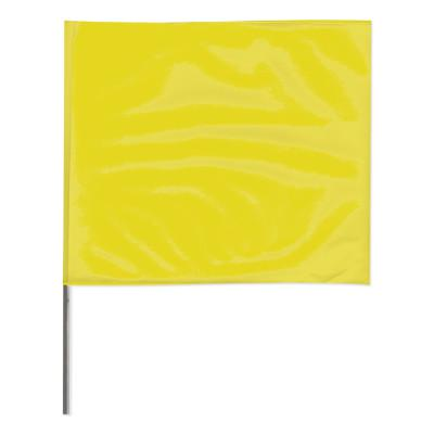 PRESCO Stake Flags, 2 in x 3 in, 21 in Height, Yellow