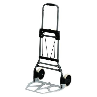 SAFCO PRODUCTS COMPANY Stow-Away Medium Hand Truck, 275lb Capacity, 19w x 17 3/4d x 38 3/4h, Aluminum