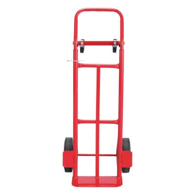 SAFCO PRODUCTS COMPANY Two-Way Convertible Hand Truck, 500-600lb Capacity, 18w x 51h, Red