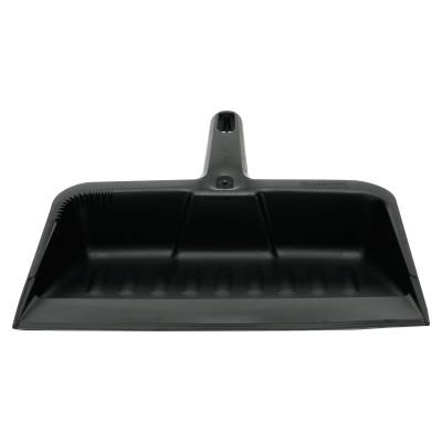 """RUBBERMAID COMMERCIAL Heavy-Duty Dustpan, 8 1/4"""" w, Polypropylene, Charcoal"""