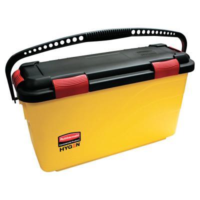RUBBERMAID COMMERCIAL HY HYGEN Charging Bucket, Yellow