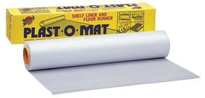 WARP BROTHERS Plast-O-Mat Heavy Duty Ribbed Floor Runner 100'