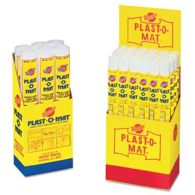 WARP BROTHERS Plast-O-Mat Heavy Duty Ribbed Floor Runner 25'