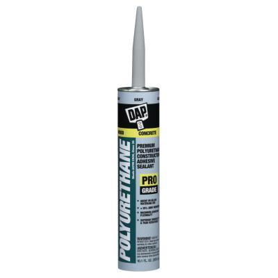 DAP Premium Polyurethane Adhesive Sealants, 10.1 oz , Gray