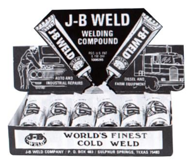 J-B WELD Cold Weld Compounds, 2 oz (2 x 1 oz.) Display, Dark Grey