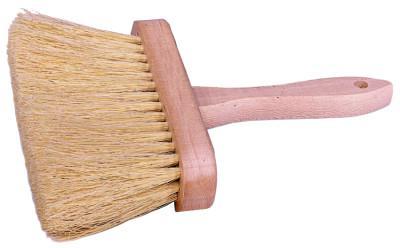 """WEILER 6-1/2"""" Masonry Brush, 3-1/2"""" Trim, White Tampico Fill"""