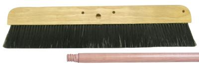 "WEILER 24"" Syn. Cement Finishing Brush Kit; includes 12 Heads"