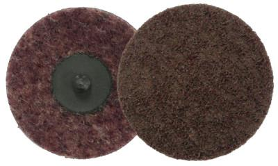 WEILER Surface Conditioning Discs, 3 in Dia., Medium Grit, Aluminum Oxide
