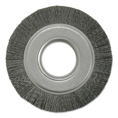 WEILER Composite Metal Hub Wheel Brushes, Ceramic, 6 in, 4000 rpm