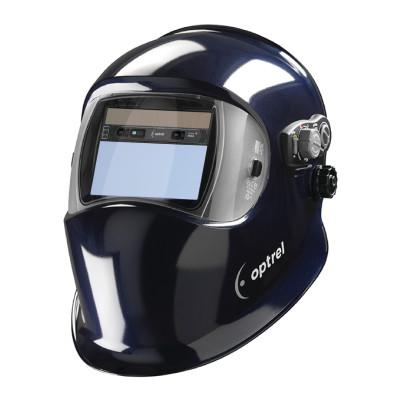 OPTREL Welding Helmets, Dark Blue, 4.25 in x 2 in, 5-13 Shade