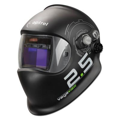 OPTREL The Automatic Welding Helmet with World Record 2.5 ADF, Black, 1.97 in x 3.94 in