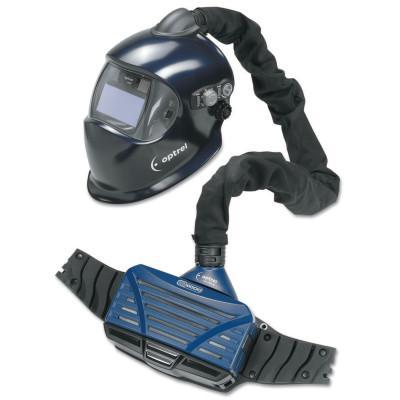 OPTREL e3000 PAPR System with Auto-Darkening Welding Helmet, E670 Helmet
