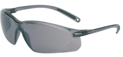 HONEYWELL UVEX A700 Series Eyewear, Gray Lens, Polycarbonate, Hard Coat, Gray Frame