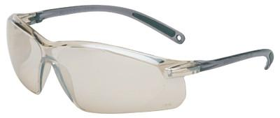 HONEYWELL UVEX A700 Series Eyewear, Indoor/Outdoor Lens, Polycarbonate, Hard Coat, Gray Frame
