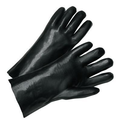 PIP Welder's Gloves, PVC, Large, Black