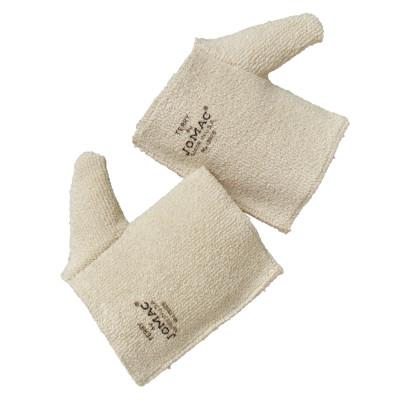 WELLS LAMONT Jomac Hand Pads, 100% Terrycloth Loop-Out, Natural White