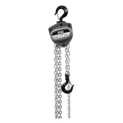 JET L100 Hand Chain Hoist, 1/2 Tons Capacity, 15 ft Lifting Height, 1 Fall, 53 lbf