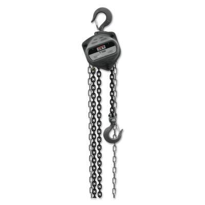 JET S90 Series Hand Chain Hoist, 1 Fall, 15 ft Lift, 60.5 lb·ft