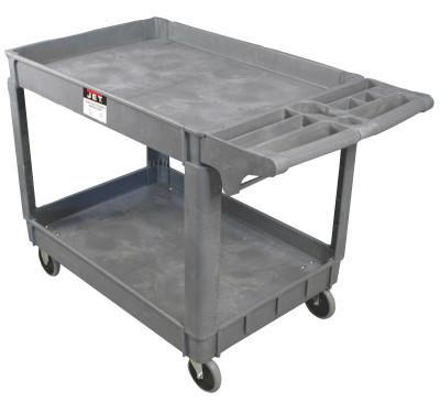 JET Utility Carts, 550 lb, 46 X 25 5/8 X 33 1/2h, Gray