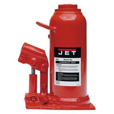 JET JHJ Series Heavy-Duty Industrial Bottle Jack, 3 1/4Wx5 5/8Lx7 7/8-15 1/2H, 5 ton