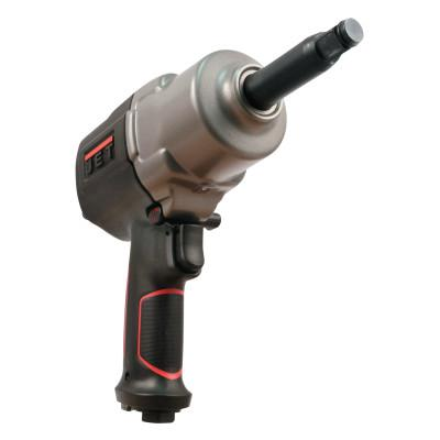 """JET R12 Series Air Impact Wrench w/Extension, 1/2"""" (2"""" ext), 750 ft lb, Hog Ring Ret"""