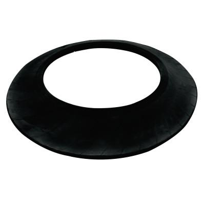 CORTINA Channelizer Drum Ring Base, 22.5 in, Recycled Tire Rubber, Black