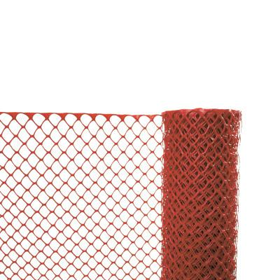 CORTINA Safety Fences, 4 ft x 50 ft, Polyethylene, Orange