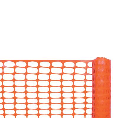 CORTINA Safety Fences, 4 ft x 100 ft, Polyethylene, Orange