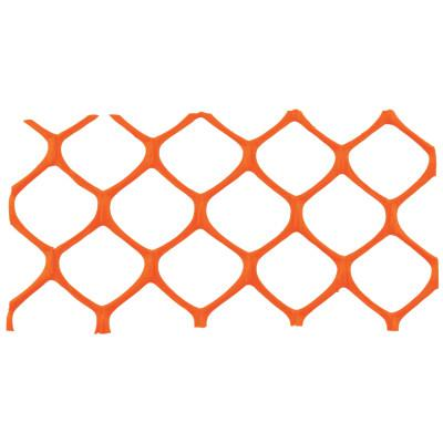 CORTINA Mid-Grade Safety Fence, 4 ft x 50 ft, Polyethylene, Orange