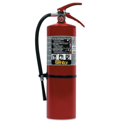 ANSUL FIRE EXTINGUISHERS SENTRY Dry Chemical Hand Portable Extinguisher, Class ABC TAL, 10lb Cap. Wt.