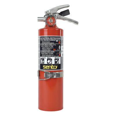 ANSUL FIRE EXTINGUISHERS SENTRY Dry Chemical Hand Portable Extinguisher, Class ABC Fires, 2.5lb Cap. Wt.