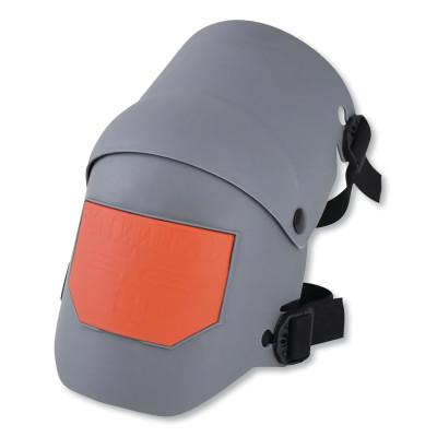 SELLSTROM KneePro Ultra Flex III Knee Pads, Elastic Straps w/Quik-Snap Clips, Grey/Org