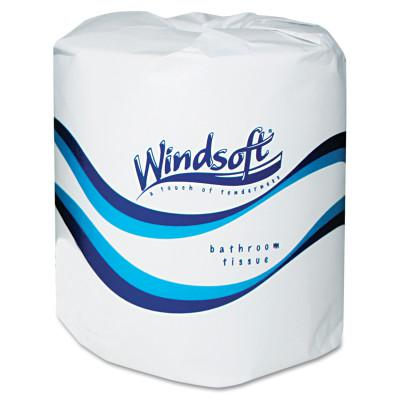 WINDSOFT Single Roll Two Ply Premium Bath Tissue