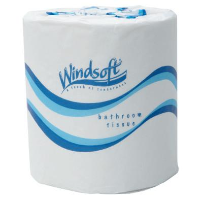 WINDSOFT Embossed Bath Tissue, 2-Ply, 500 Sheets/Roll