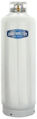 WORTHINGTON CYLINDERS Cylinders, 100 lb