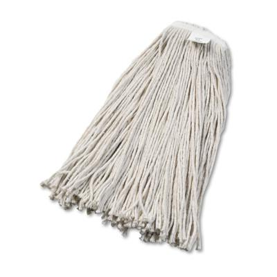 BOARDWALK Cut-End Wet Mop Head, Cotton, No. 32, White