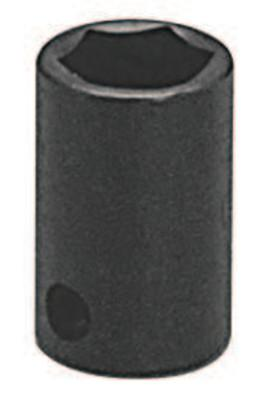 """WRIGHT TOOL 3/8"""" Dr. Standard Impact Sockets, 3/8 in Drive, 3/4 in, 6 Points"""
