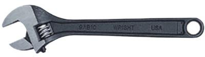 WRIGHT TOOL Adjustable Wrenches, 24 in Long, 2 17/32 in Opening, Cobalt