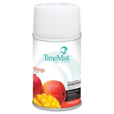 TIMEMIST Metered Fragrance Dispenser Refills, Mango, 6.6oz, Aerosol