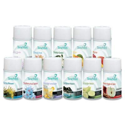 TIMEMIST Fragrance Dispenser Refills, Assorted Fragrances, 6.6oz