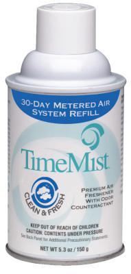 AMREP Premium Metered Air Freshener Refill, Green Apple 5.3 oz, Aerosol