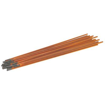 BEST WELDS DC Copperclad Gouging Electrode, 3/8 in dia x 17 in L, Jointed